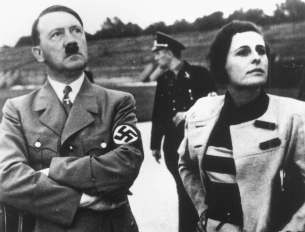 Адольф Гитлер и Лени Рифеншталь