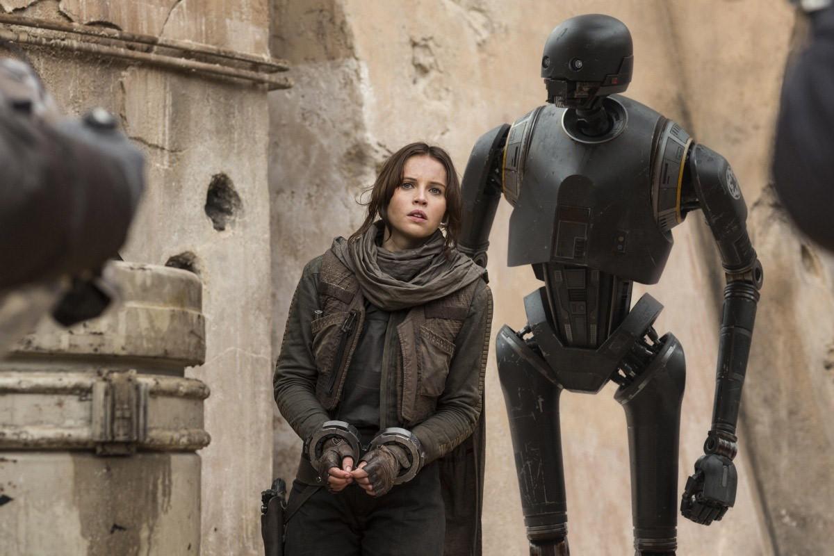 Фелисити Джонс в фильме «Изгой-один. Звездные войны. Истории»