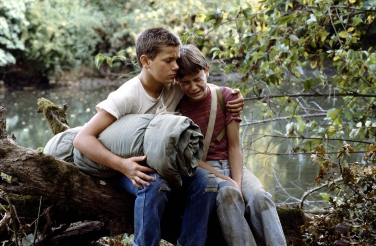Кадр из фильма «Останься со мной», 1986
