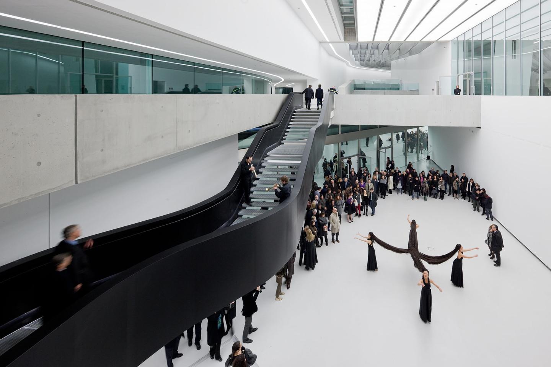 Музей искусства XXI века MAXXI в Риме, 2009 г.