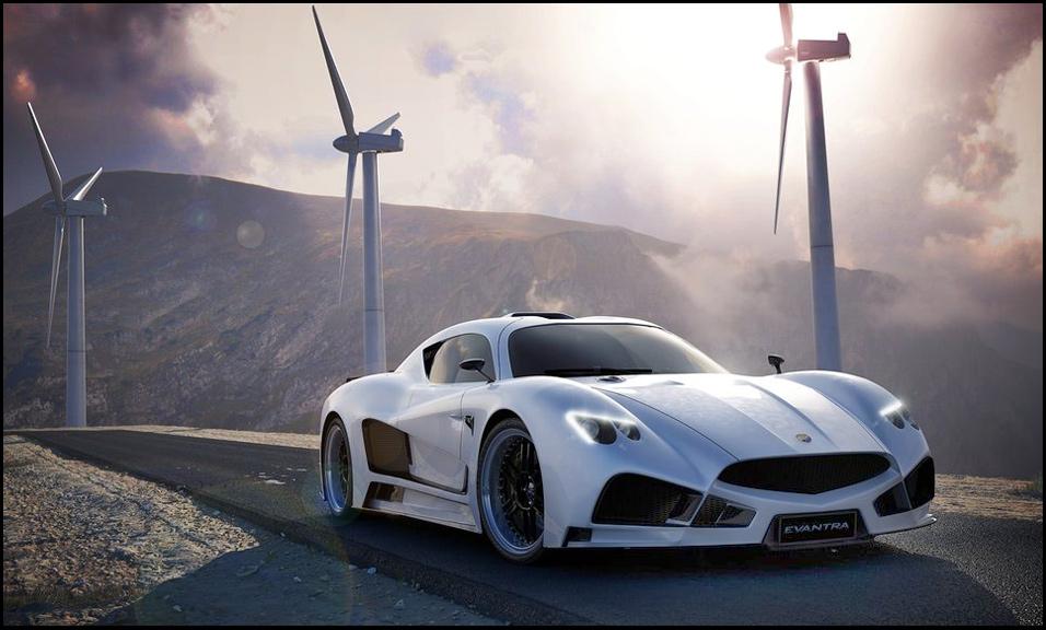 Mazzanti Evantra V8 – как Ferrari, только эксклюзивнее
