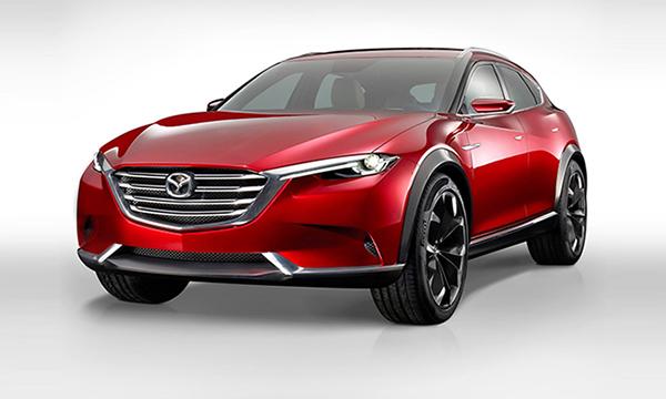 Mazda показала будущего конкурента BMW X4