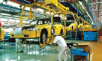 Производство автомобилей в Испании упало на 12%