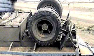 Бензовоз попал в ДТП, на дорогу вылилось 14 тонн топлива