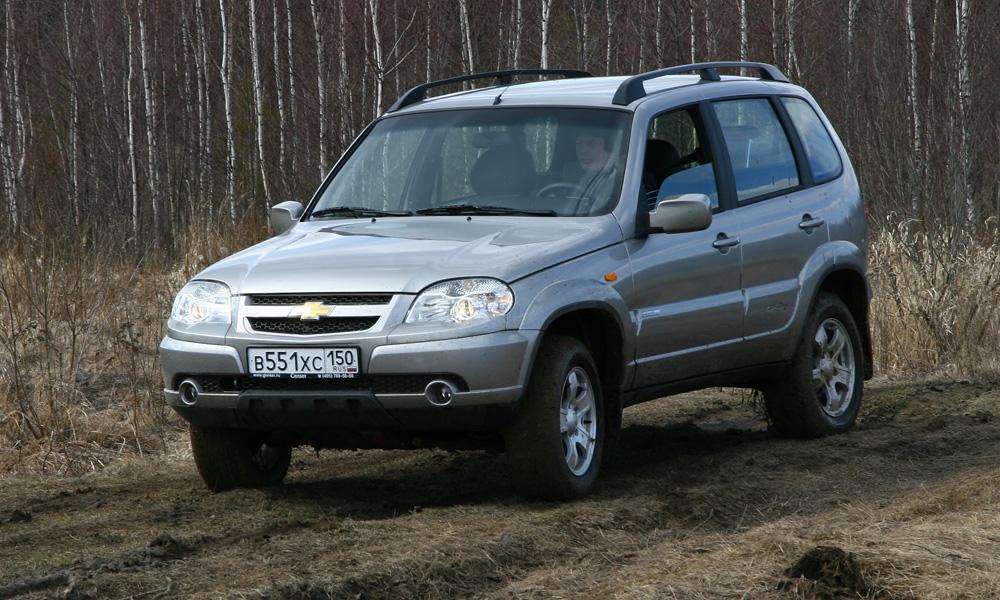 Chevrolet Niva незначительно подорожает в 2013 году