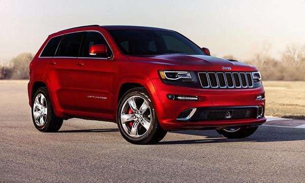 Jeep представил обновленный Grand Cherokee SRT