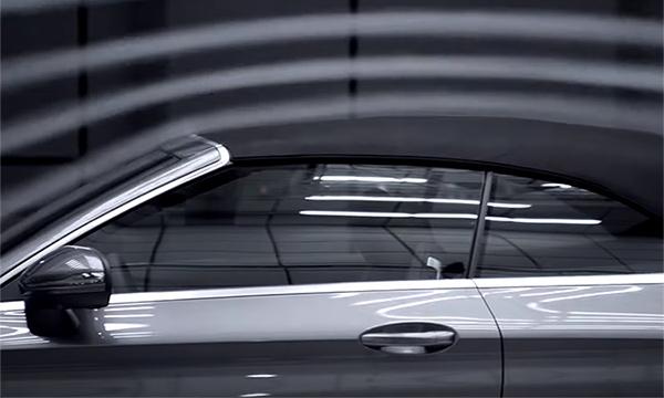 Mercedes показал кабриолет C-Class на видео