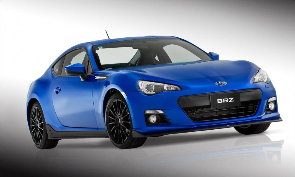 Subaru BRZ приобрел STI-наряд