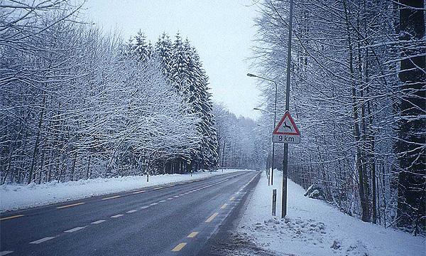 Первый снег не привел к всплеску аварийности