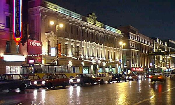 Жители поселка Речник организовали автопробег в центре Москвы