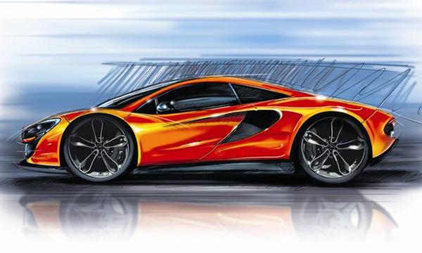 McLaren создаст конкурента Porsche 911 на карбоновом шасси