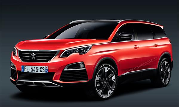 Новый Peugeot 5008 станет кроссовером