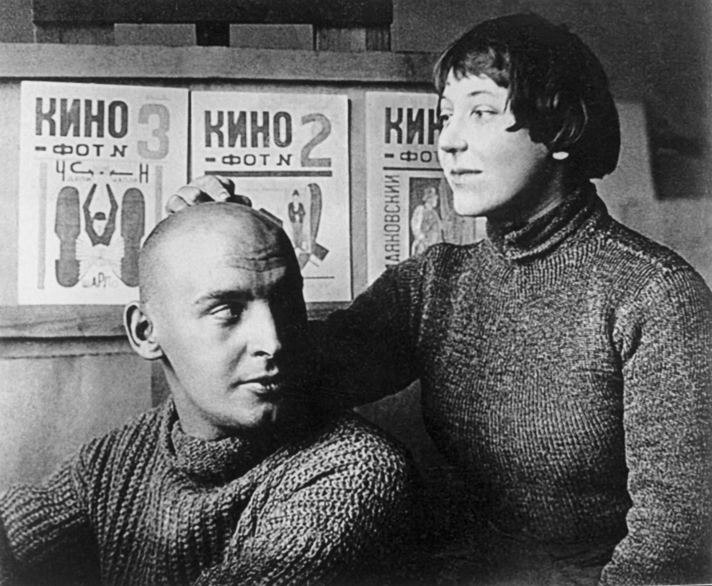 Варвара Степанова и Александр Родченко, 1920 год