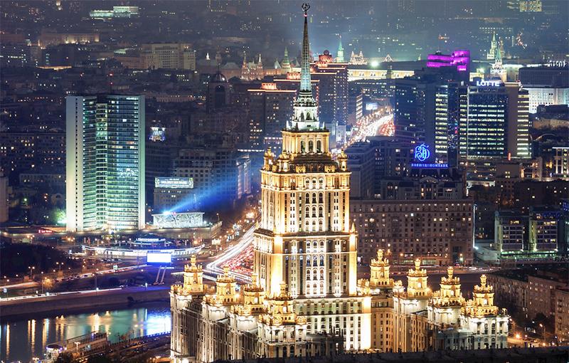 Вид из отеля «Украина» («Рэдиссон Коллекшен, Москва»)