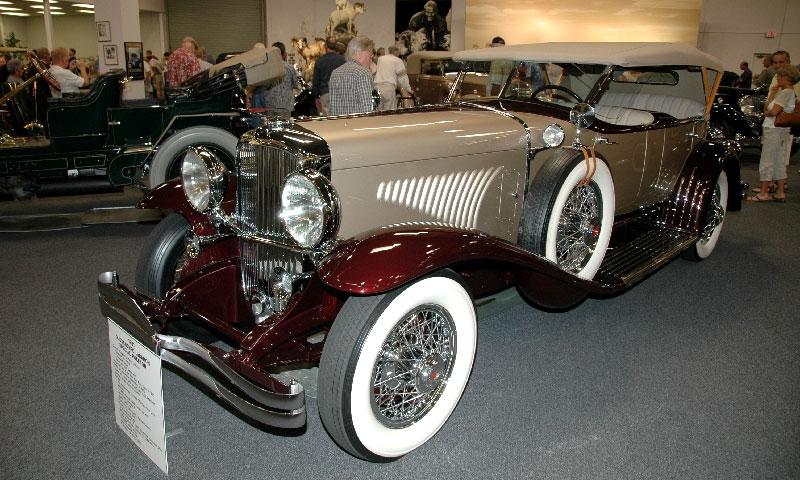 Duesenberg Model J Special Phaeton 1931 года