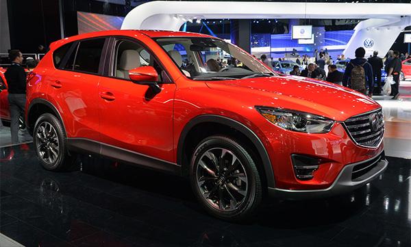 Mazda обновила кроссовер CX-5