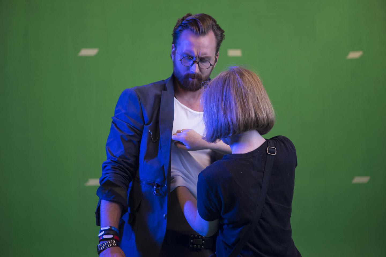 Съемки сериала «Digital Доктор»