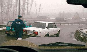 Бандиты в форме ГИБДД грабили водителей на трассе Москва – Уфа