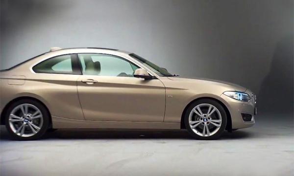 В сети появились официальные снимки BMW 2-Series