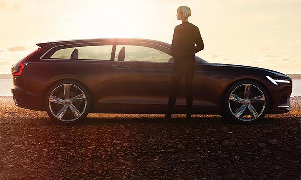 Volvo рассекретила концепт трехдверного универсала