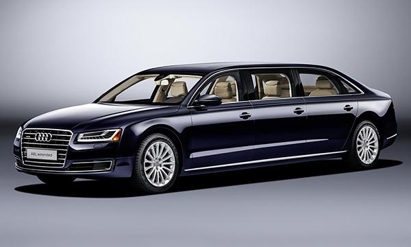 Audi представила лимузин на базе A8