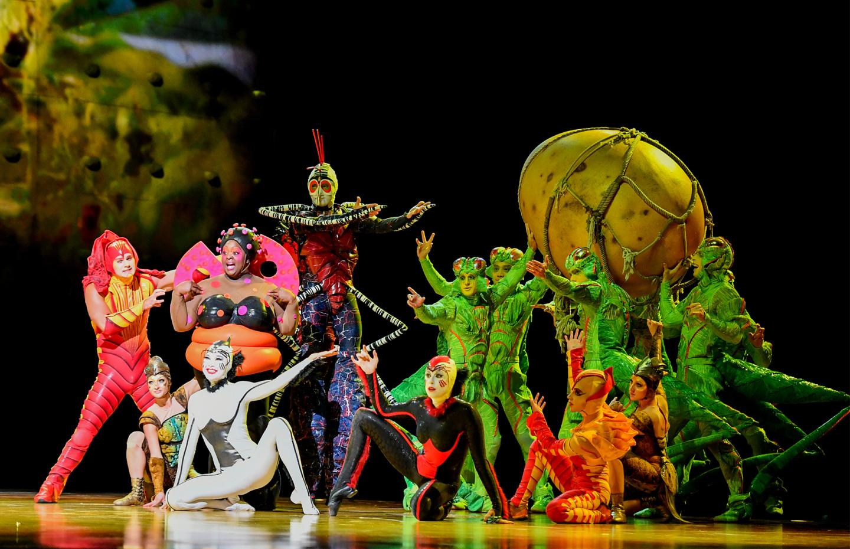 цирк солнца / Cirque du Soleil
