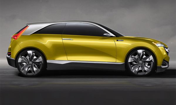 Компании Acura предложили проект трехдверного кроссовера