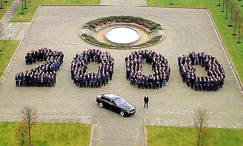 Rolls-Royce отмечает выпуск 2-тысячного Phantom