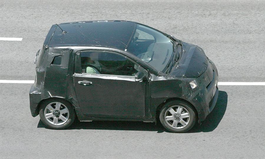 Toyota IQ проходит последние тесты