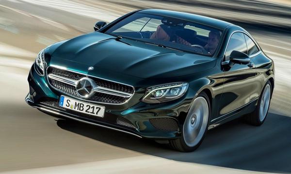 Опубликованы фотографии Mercedes-Benz S-Class Coupe