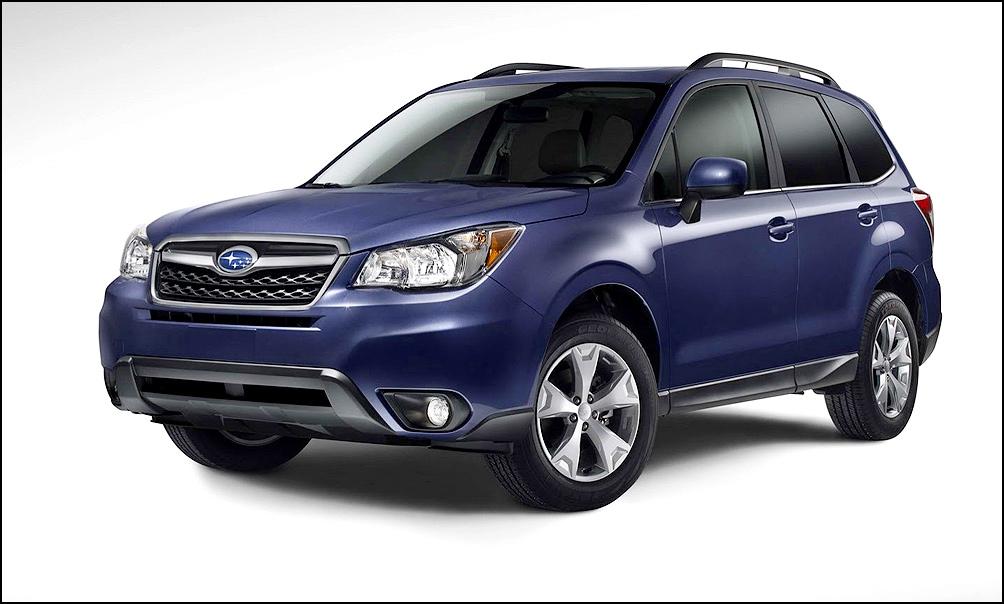 Новый Subaru Forester и его конкуренты