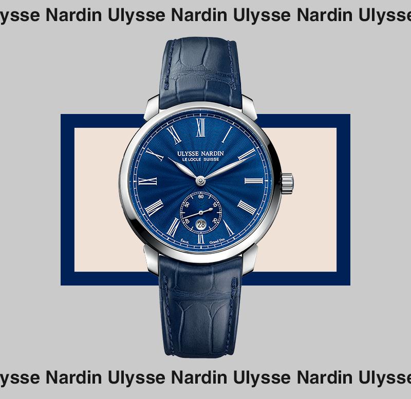 Сlassico Manufacture, Ulysse Nardin, сталь, эмаль — 545 600 руб.
