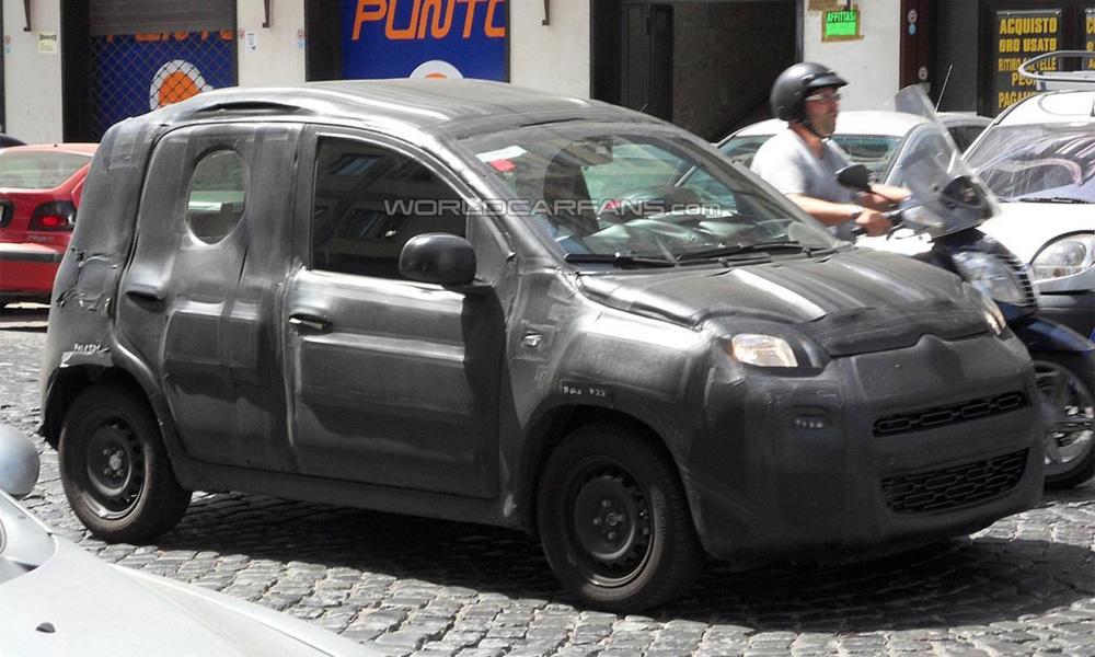 FIAT Panda впервые попал в объективы фотографов-шпионов