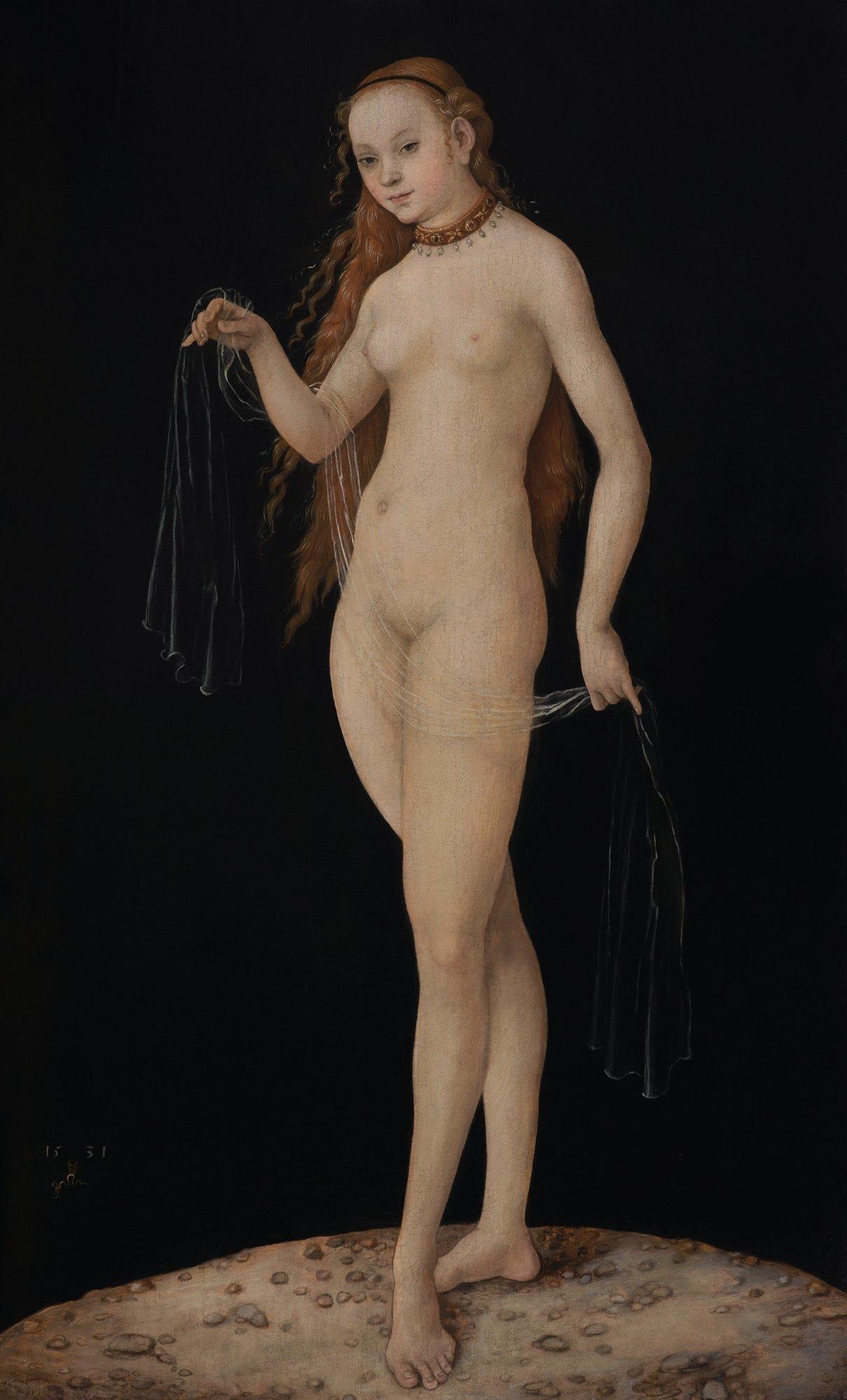 Лукас Кранах Старший «Венера»