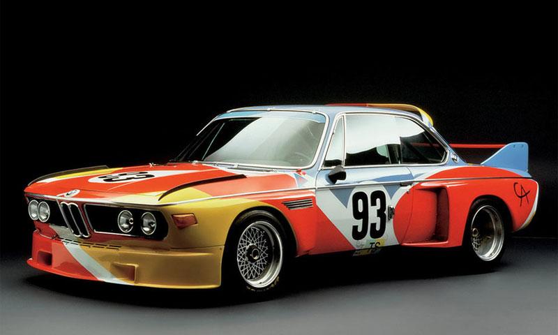 В Москву привезли выставку BMW Art Cars