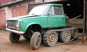 а Московском автосалоне ВАЗ устроит тест-драйвы на земле и воде