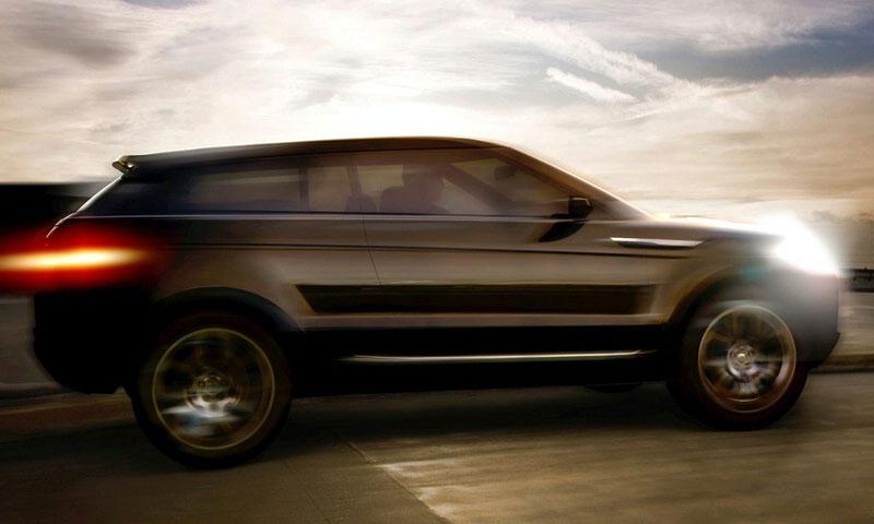 Land Rover купе-внедорожник