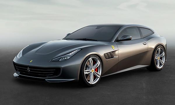 Компания Ferrari рассекретила спорткар GTC4Lusso