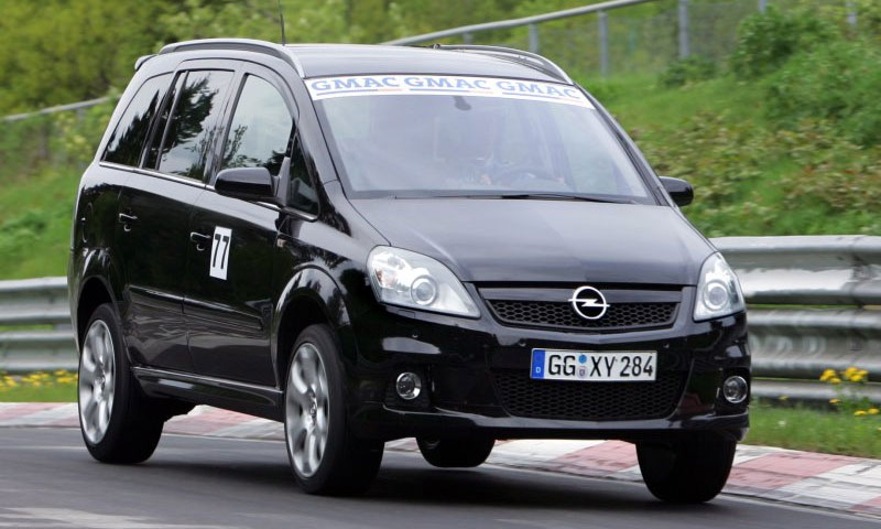 Opel Zafira OPC поставил рекорд