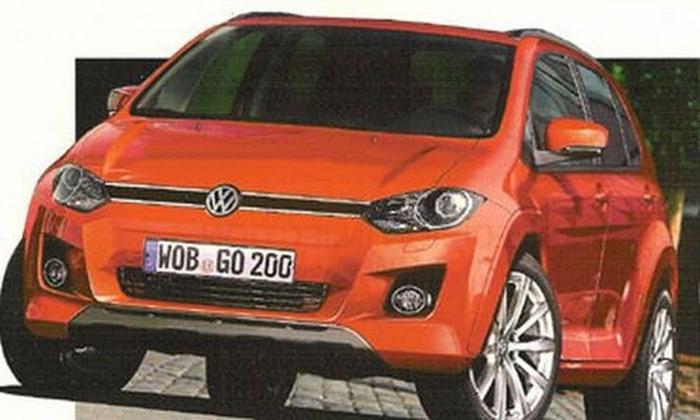 Volkswagen может построить кроссовер на базе Suzuki SX4