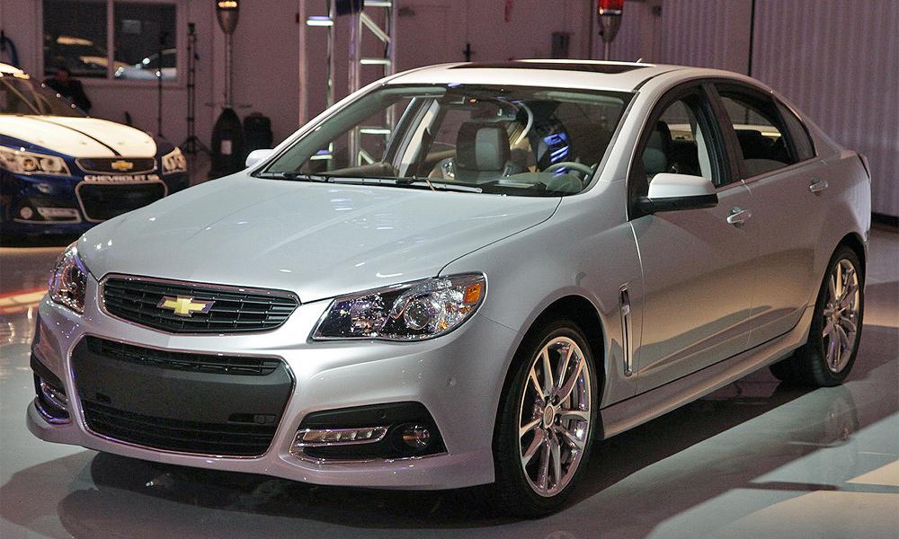 Chevrolet SS: спорт, компакт, седан