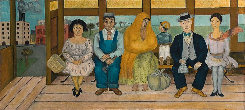 Фрида Кало. «Автобус», 1929.