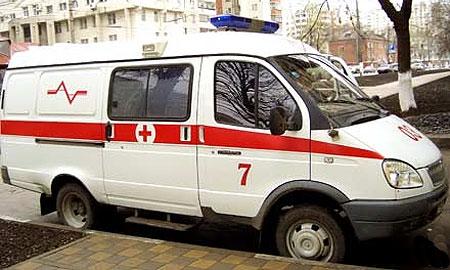 В Ростовской обл. маршрутка врезалась в грузовик