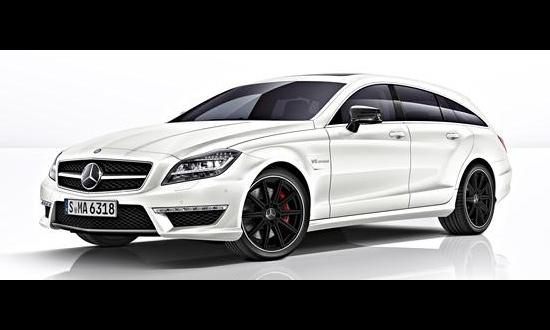 Mercedes-Benz показал универсал CLS 63 AMG