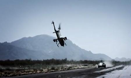 Опубликована полная версия видеозаписи крушения вертолета на съемках Top Gear