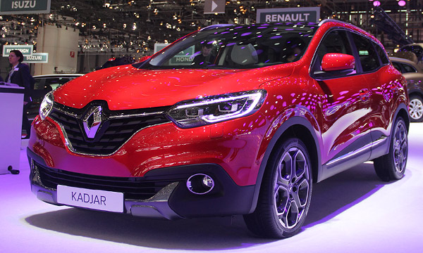 Renault Kadjar поступит в продажу летом