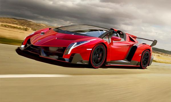 Lamborghini Veneno: торжество аэродинамики