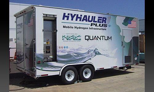 Мобильная водородная заправочная станция HyHauler