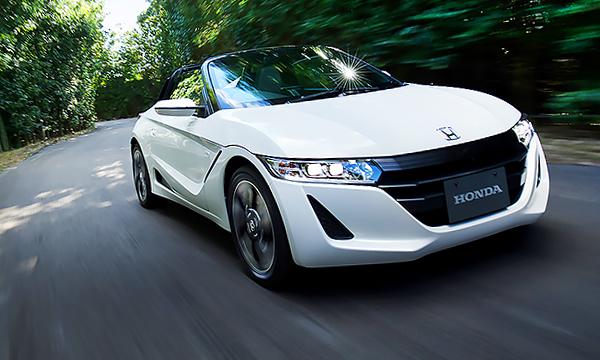 Компания Honda представила новый компактный родстер S660