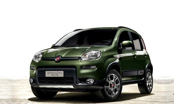 Fiat Panda превратят в кроссовер